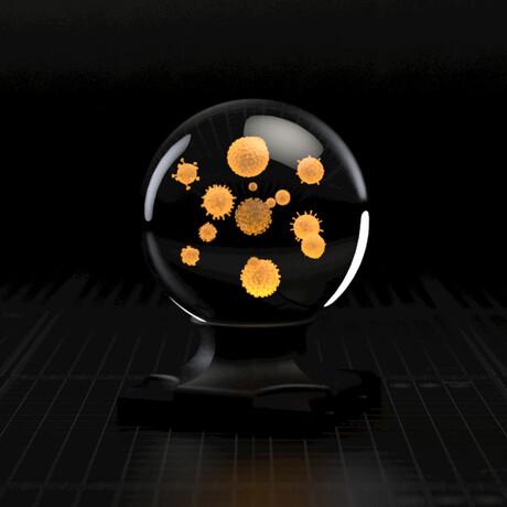Virus Cluster Sphere // LED Set