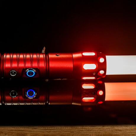 Cyber Blade Alpha Grip // Red