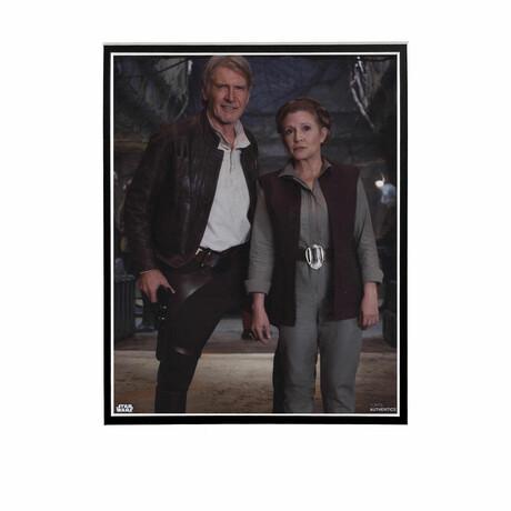 Hans Solo & General Leia // Licensed Star Wars Photo (Unframed)