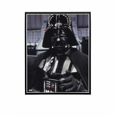 Darth Vader Close-Up // Licensed Star Wars Photo (Unframed)