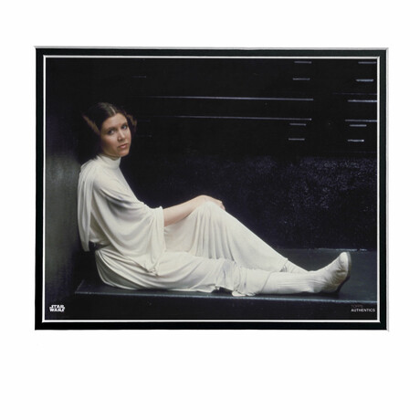 Princess Leia Sitting // Licensed Star Wars Photo (Unframed)
