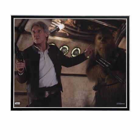 Hans Solo & Chewbacca // Licensed Star Wars Photo (Unframed)