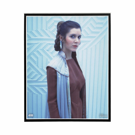 Princess Leia Side Portrait // Licensed Star Wars Photo (Unframed)