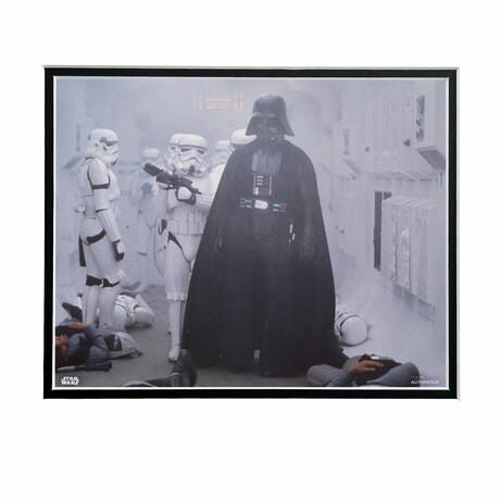 Darth Vader & Storm Troopers // Licensed Star Wars Photo (Unframed)