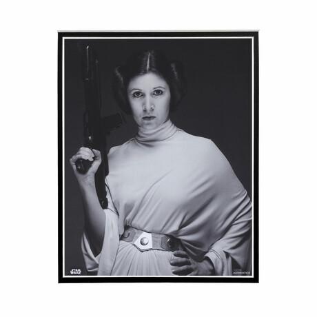 Princess Leia Black & White // Licensed Star Wars Photo (Unframed)