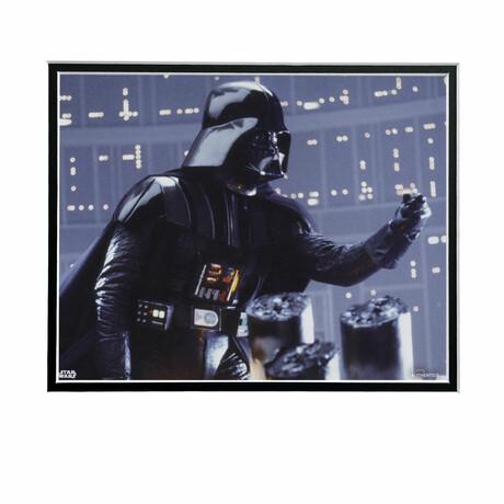 Darth Vader Side // Licensed Star Wars Photo (Unframed)