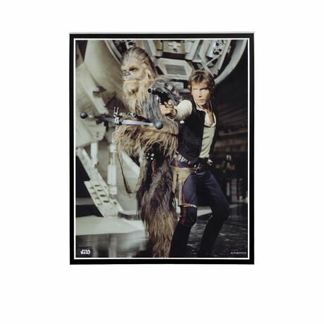 Chewbacca & Hans Solo // Licensed Star Wars Photo (Unframed)
