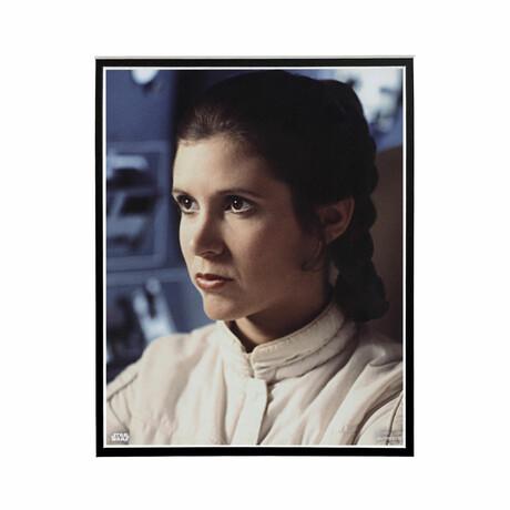 Princess Leia Side Profile // Licensed Star Wars Photo (Unframed)