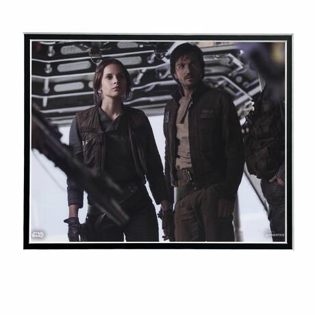 Jyn Erso & Captain Cassian Andor // Licensed Star Wars Photo (Unframed)