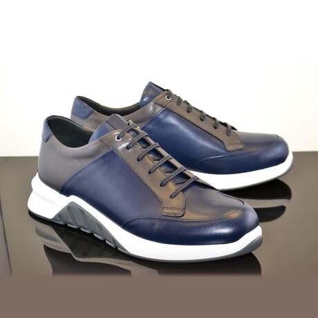 Fashion Sneaker // Navy + Gray (US: 7)