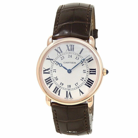 Cartier Ronde Louis Cartier Manual Wind // W6800251 // Pre-Owned