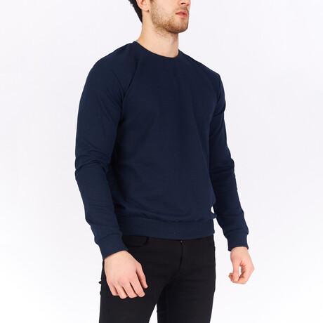 Sweatshirt // Navy Blue (S)