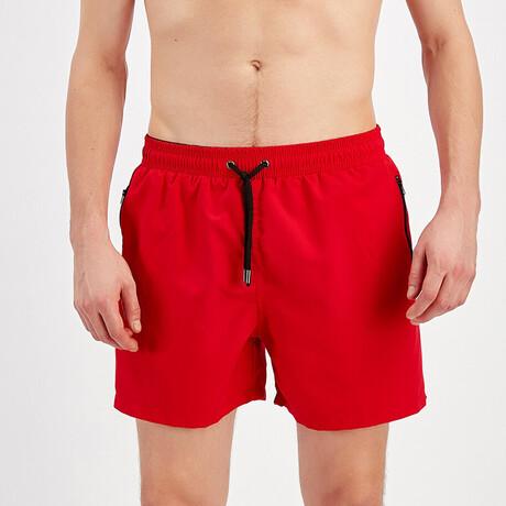 Swim Shorts // Red (S)
