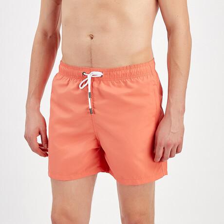 Swim Shorts // Coral (S)