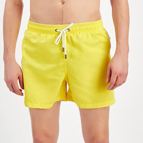 Swim Shorts // Yellow (S)