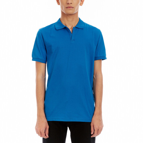 Short Sleeve Polo Shirt // Flower Pot (S)