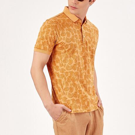 Short Sleeve Polo Shirt // Mustard (S)