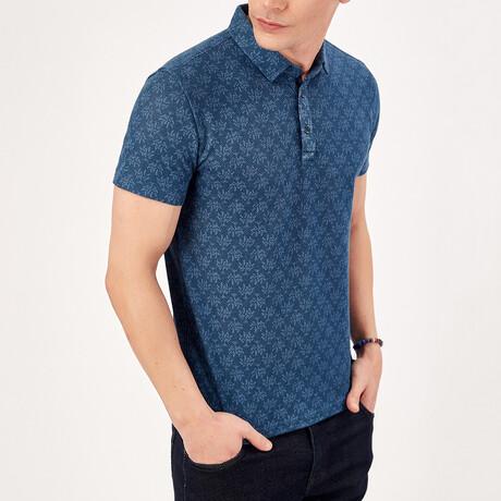 Short Sleeve Polo Shirt // Oil (S)