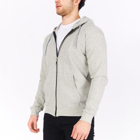 Full Zip Hoodie // Gray (S)