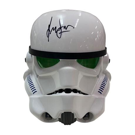 Harrison Ford // Autographed Stormtrooper Helmet