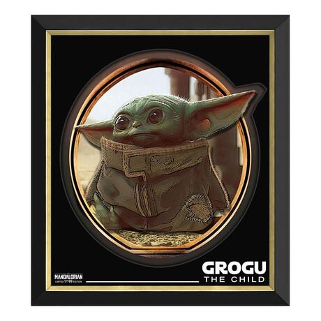 Grogu // Limited Edition Framed Print // The Mandalorian