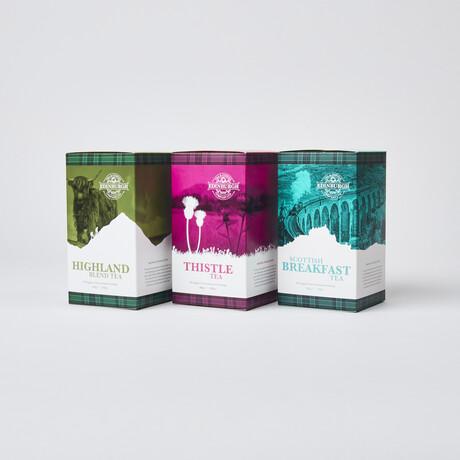 Scottish Tea // Set of 3