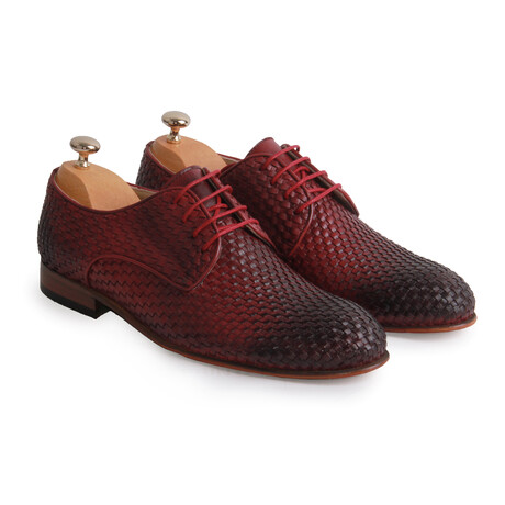 Rice Classic Shoe // Claret Red (Euro: 39)