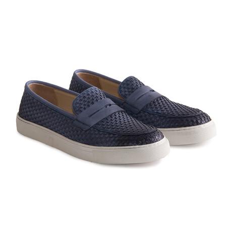 Carlo Casual Shoe // Blue (Euro: 39)