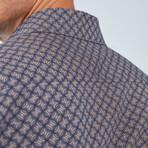 Boris Becker // Angola Button Up Shirt // Navy (Small)