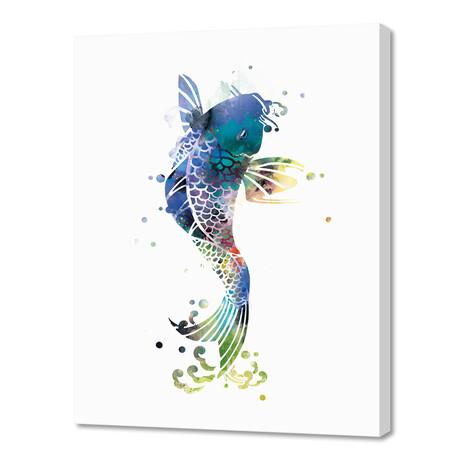 """Koi Fish (16""""W x 20""""H x 1.5""""D)"""