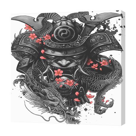 """Sleeve Tattoo Samurai Irezumi (16""""W x 16""""H x 1.5""""D)"""