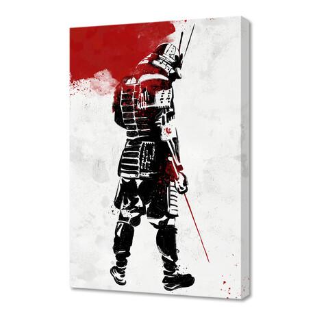 "Samurai Warrior (16""W x 24""H x 1.5""D)"