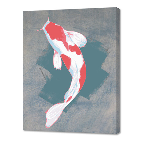 Koi Fish Digital Illustration // V2