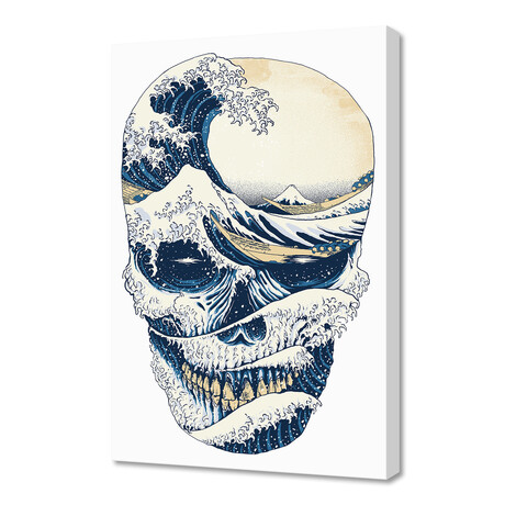 The Great Wave Of Skull