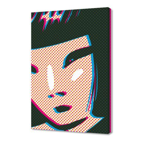 "Graphic Face 08A (16""W x 24""H x 1.5""D)"