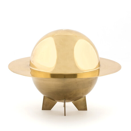 Cosmic Diner Brass Box // Lunar