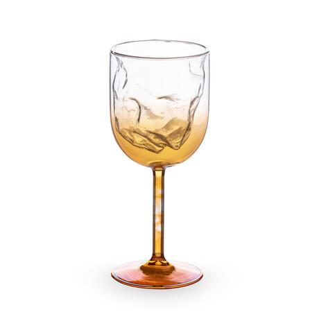 Cosmic Diner Wine Glasses // Meteorite