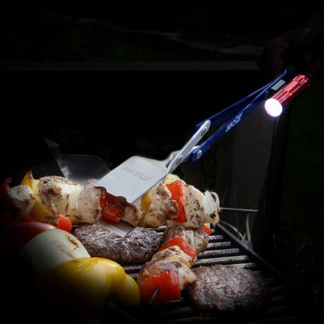 """BBQ Croc 3 in 1 Tool + Grill Light // 18"""""""