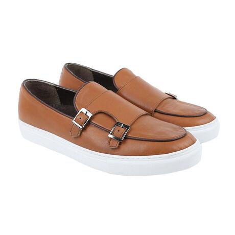 Monk Strap Sport Sneaker // Tan (Euro Size 38)