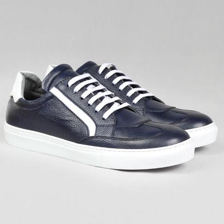 Big Number Sport Sneaker // Navy Blue (Euro Size 38)
