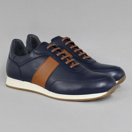 Sport Sneaker // Navy + Tan (Euro Size 39)