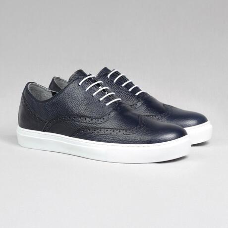 Sport Oxford Sneaker // Navy Blue (Euro Size 38)