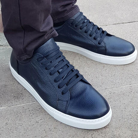 Sport Sneaker V1 // Navy Blue (Euro Size 38)