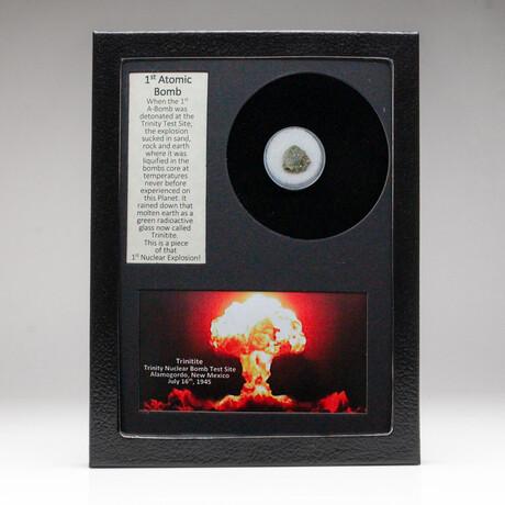 Genuine Trinitite + Display Box
