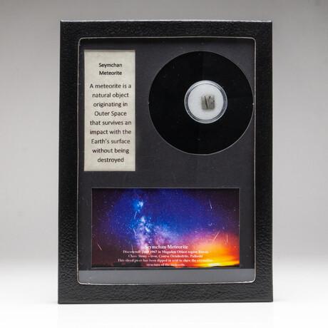 Genuine Seymchan Meteorite + Display Box