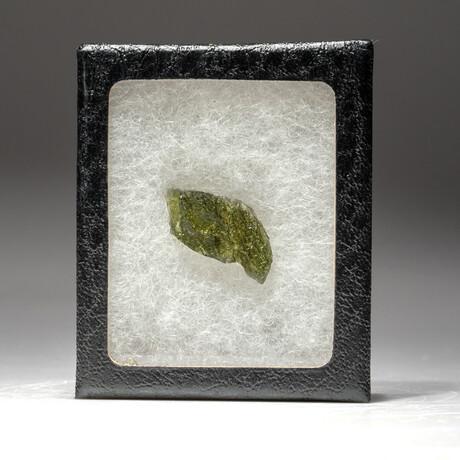 Genuine Moldavite Tektite Nugget + Display Box // 5 g
