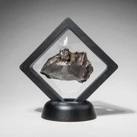 Genuine Natural Sikhote-Alin Meteorite + Display Box // 74 g