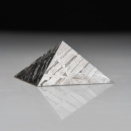 Genuine Natural Seymchan Meteorite Pyramid // 110.5 g