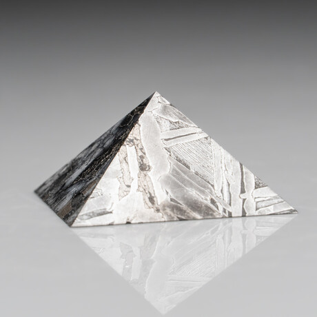 Genuine Natural Seymchan Meteorite Pyramid // 79.3 g