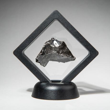 Genuine Natural Sikhote-Alin Meteorite + Display Box // V1 // 46 g